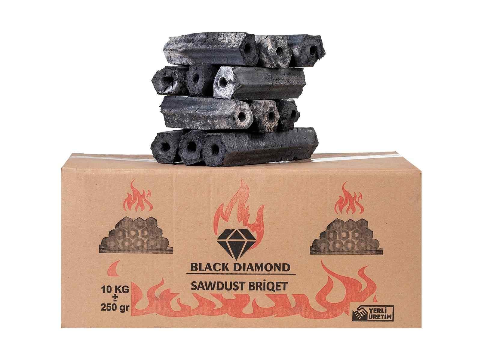 BLACK DIAMOND PRESS BRİKET TAŞ FIRIN MANGAL KÖMÜRÜ 10kg