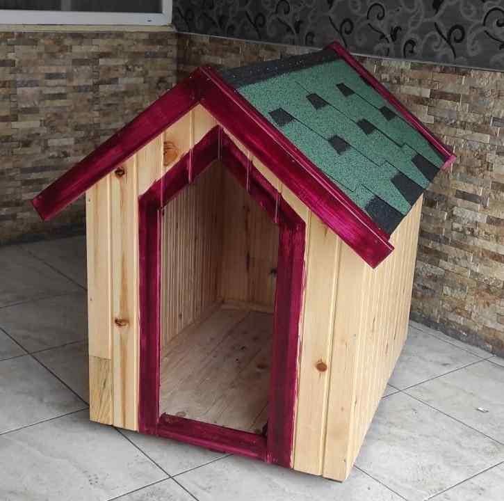 Büyük  Ahşap köpek evi ve kulübesi