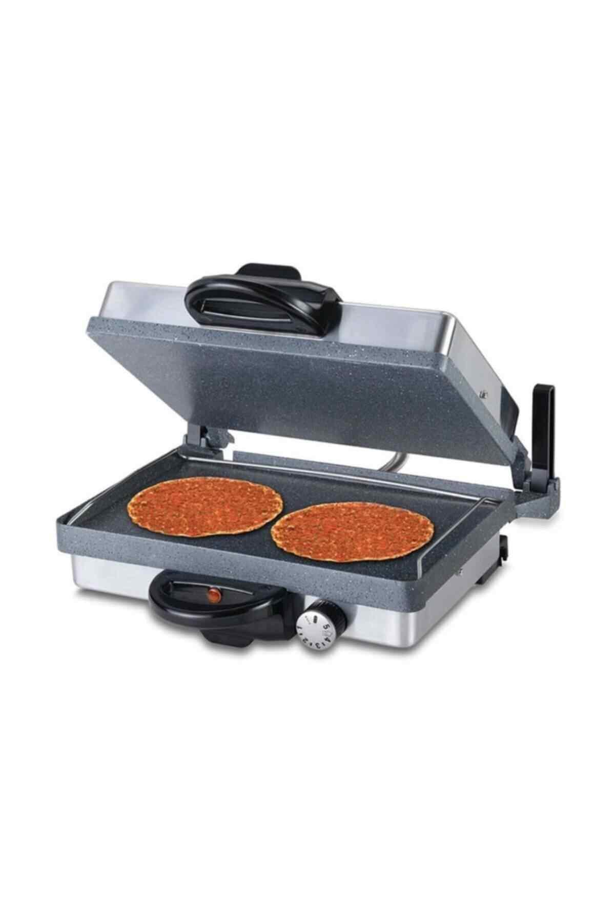 Silex Tost Lahmacun Tost Makinesi Gri Tavalı